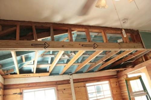 old-porch-demolition-beam-arrows
