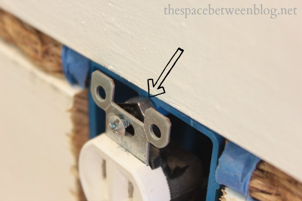 screw outlet in with a nut adding depth & Day #18 u2013 the secret to getting your outlets to sit flush with the ... Aboutintivar.Com