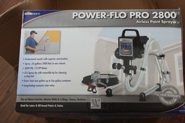 homeright power pro 2800 paint sprayer