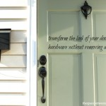 tips for anyone interested in painting door knobs without removing them