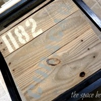 pallet wood project {kitchen crate}