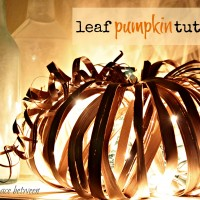fall craft {pumpkin}