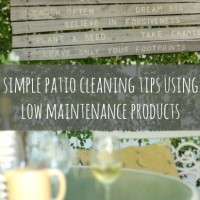 patio cleaning tips and suggested products