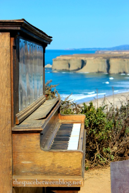 half moon bay and a piano #cmaxdrive