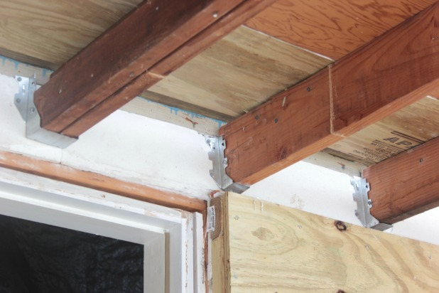 porch roof joist hangers