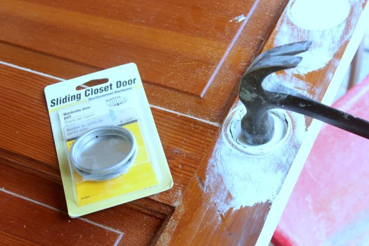 prepping a pocket door