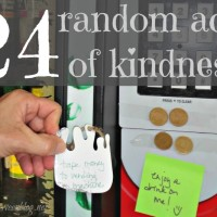 24 random acts of kindness