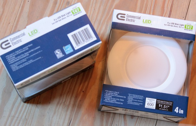 led recessed lights - energy efficiency audit
