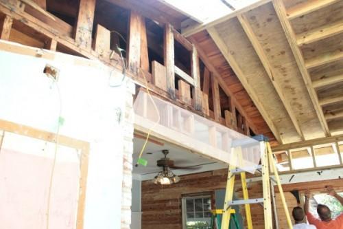 roof project progress