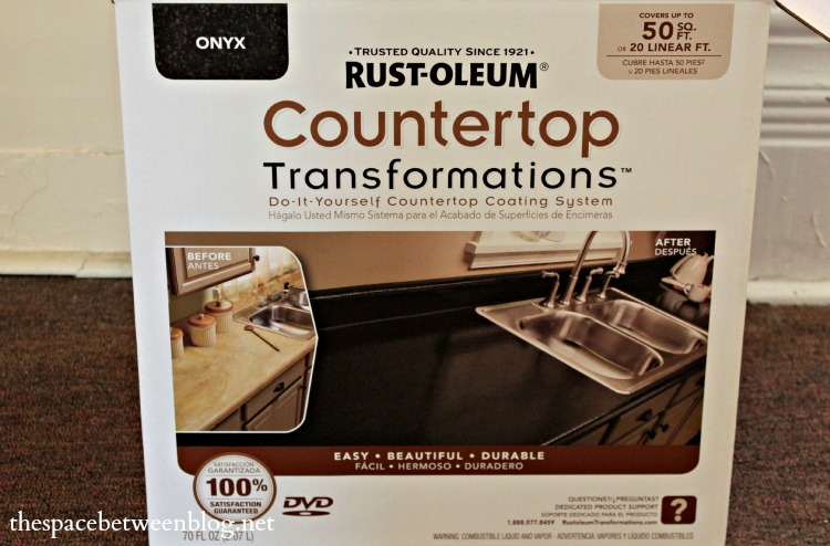Rustoleum Countertop Paint Directions : Armed with the Rustoleum Countertop Transformation kit in Onyx, here ...
