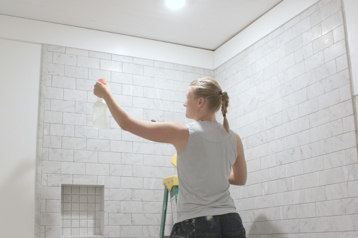 Cutting Grouting And Sealing Marble Tile Tips The Space