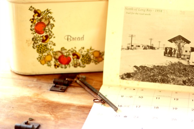 vintage finds in an old shed - feels like shopping in a thrift shop