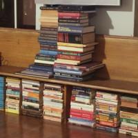 my stacks o' books