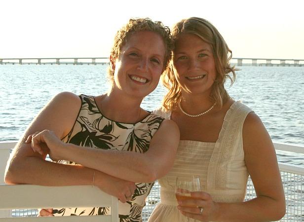 sue and karah at Maryland wedding