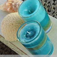make jar candles {from old candlesticks}