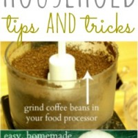 this week's tips and tricks {coffee beans, chicken broth and hot glue}