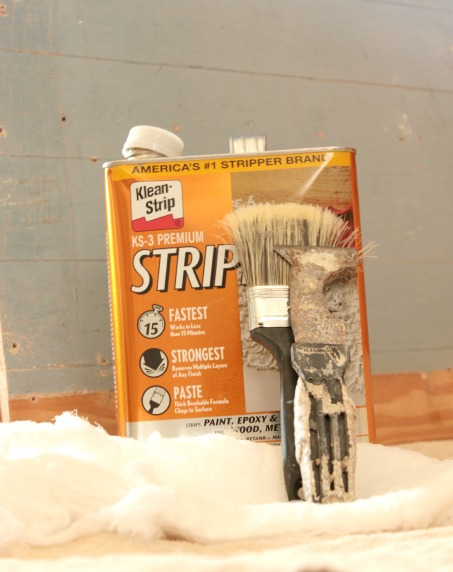 tips for stripping wood slat walls