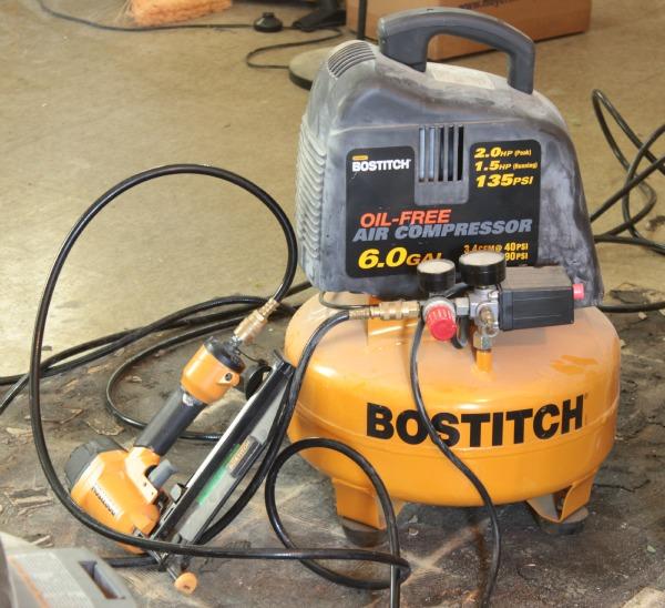 bostitch nail gun and compressor