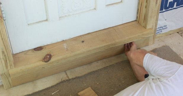 Installing Exterior Wood Trim Around Windows And Doors