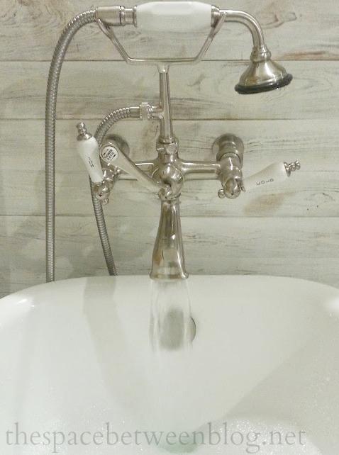 vintage style tub faucet