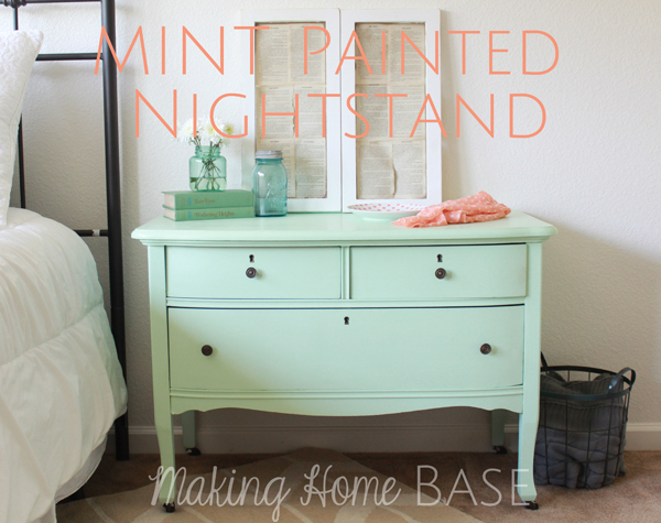9 color combinations for your home and easy ways to for Mint green furniture paint