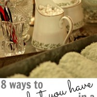 upcycling ideas {8 ways to use regular things around your house in unique ways}