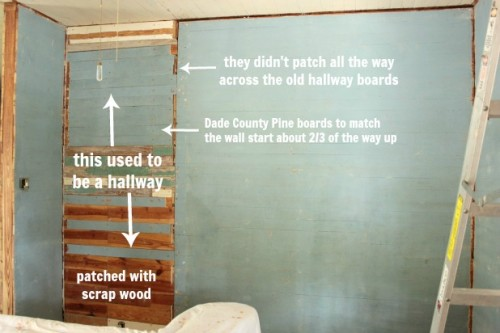 explanations for where to put board and batten