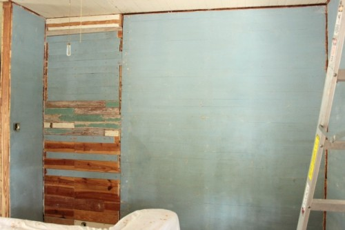 wall before board and batten