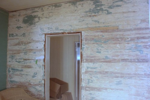 dade county pine wall stripped