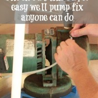 the damper side of diy {easy well pump repair}