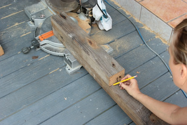 Great wood bed frame cut legs