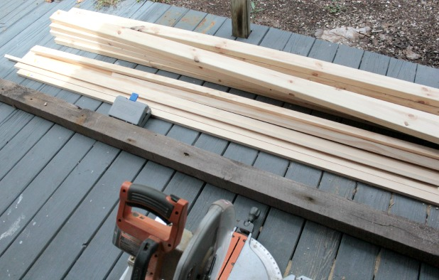 wood bed frame supplies