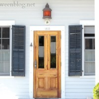 why do we have an outswinging door?
